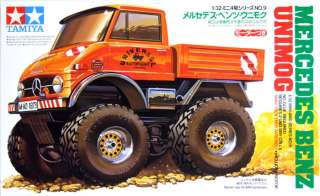 Tamiya 19009 Mini 4WD MERCEDES BENZ UNIMOG 1/32