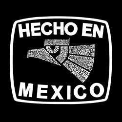 Los Angeles Pop Art Womens Hecho en Mexico Tank Top