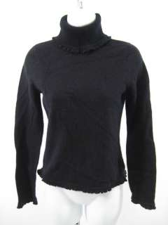 RALPH RALPH LAUREN Black Wool Turtleneck Sweater Sz XS