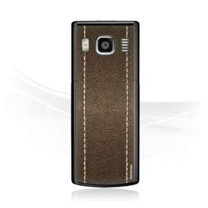 Design Skins for Nokia 6500 classic   Brown Leather Design