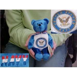 United States Navy 9 Military Bear Toys & Games