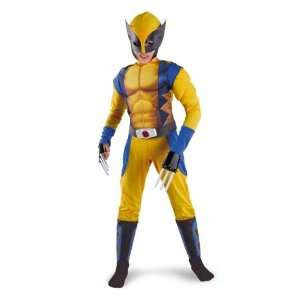 Wolverine Origins Child Classic Muscle Costume Toys