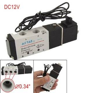 Ac 220v 2 Way 1/4 Gas Water Pneumatic Electric Solenoid