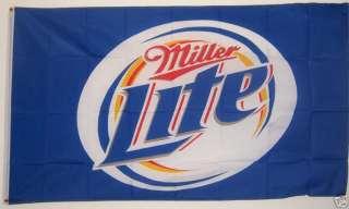 MILLERS MILLER LITE BEER FLAG BANNER 3 X 5
