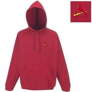 Saint Louis Cardinals MLB Goalie Hooded Sweatshirt by