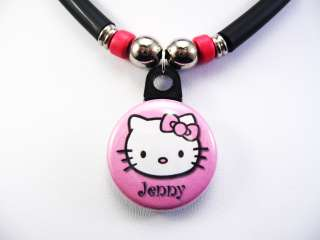 Pink Hello Kitty Necklace Personalized With Your Name