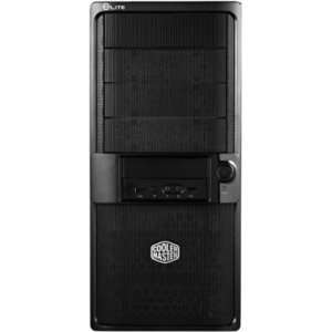 ATX PS2/EPS 7SLOT PC CAS. Mid tower   Black   Steel   10 x Bay: Office