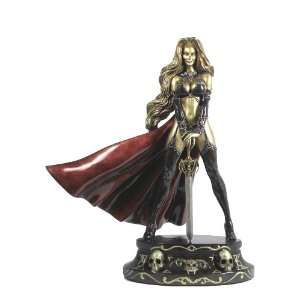 CS Moore Studios Lady Death Faux Bronze Statue