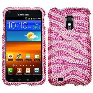 Samsung Epic Touch 4G D710 / Galaxy S2 (Sprint) Zebra Skin HOT PINK