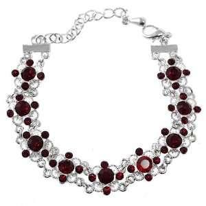 Infinity Ruby Bracelet: Jewelry