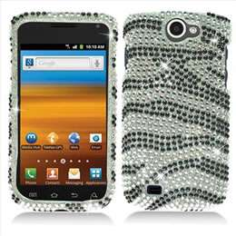 Black Bling Diamond Hard Case Cover for T Mobile Samsung Exhibit 2 II