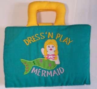Rosalina Paper Dolls Mermaid Dress N Play Puppet VGUC Cloth Paperdolls
