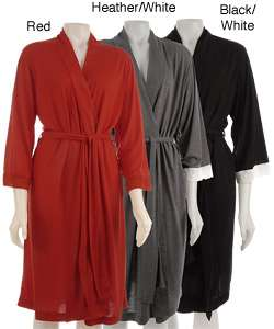 Private Luxuries by Natori Womens Jersey Knit Robe