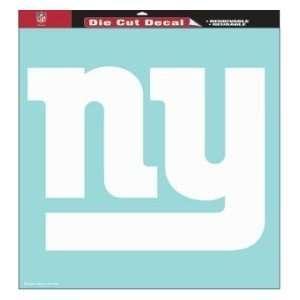 New York Giants 18 Inch x18 Inch Die Cut Decal Sports