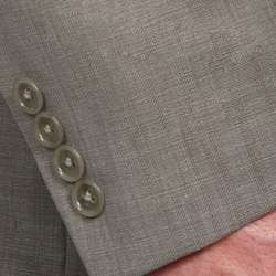 Calvin Klein Mens Slim Fit 2 button Wool Suit
