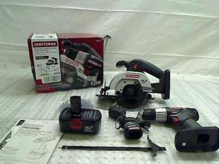 CRAFTSMAN 19.2 VOLT NI CAD DRILL AND CIRCULAR SAW STARTER KIT
