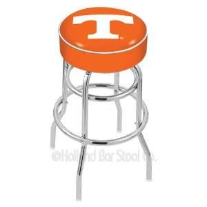 Tennessee Volunteers Logo Chrome Double Ring Swivel Bar