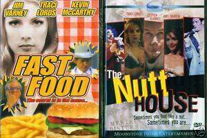 TRACI LORDS Sexy Comdies Fast Food Nutt House NEW 2 DVD 777966284699