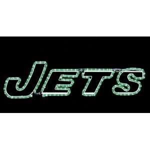 New York Jets NFL Football Rope Light