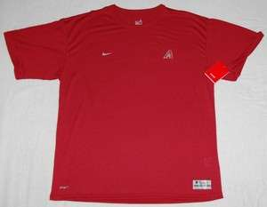 ARIZONA DIAMONDBACKS NIKE DRI FIT SHORT SLEEVE SHIRT LG