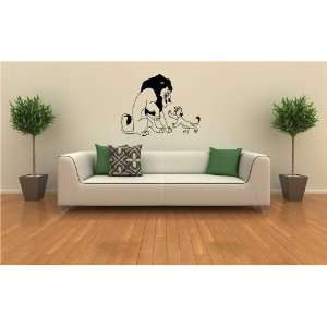 Lion King Wall MURAL Vinyl Sticker Kids ROOM S. 359
