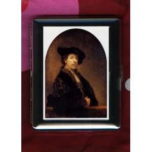 Artist Rembrandt ID CIGARETTE CASE Self Portrait Health