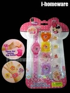 Mickey Mouse Disney Fruit Lip Gloss Balm Watch M166