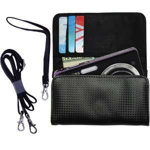 Black Purse Hand Bag Case for the Samsung DualView TL225