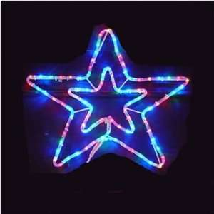 Good Tidings 4869990 23.62 LED Multi Colored Star Rope