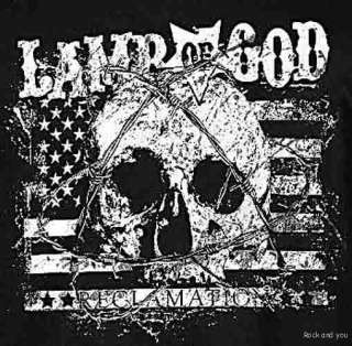 Lamb Of God Reclamation Skull metal rock T Shirt S M NWT