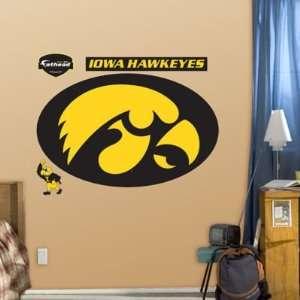 Iowa Hawkeyes Logo Fathead NIB