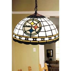 Team Logo Hanging Lamp 16hx16l Pitts Steelers Home
