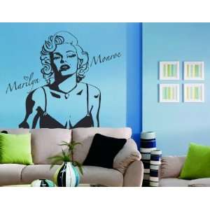 Marilyn   Vinyl Wall Decal