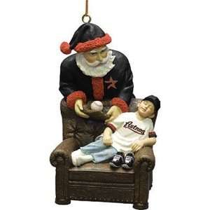 Houston Astros MLB Santas Gift Tree Ornament: Sports