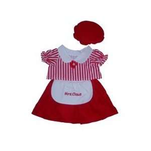 Mrs Santa Claus Outfit clothes for 14 inch to 18 inch