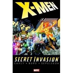 Secret Invasion X Men [Paperback] Mike Carey Books