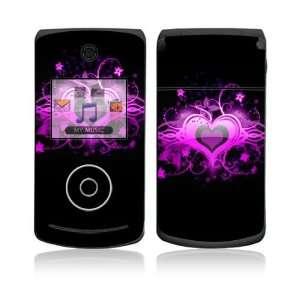 VX8560) Skin Decal Sticker   Glowing Love Heart