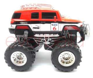 Mini Radio Remote Control RC Pickup Monster Truck car 6