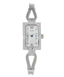 Concord 18k White Gold Soiree Diamond Watch  Overstock