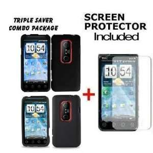 Phone Cover for SPRINT HTC EVO 3D + 1 FREE LCD SCREEN PROTECTOR Cell