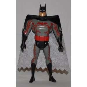 Batman (Black Cowl, Black Cape, & Silver Lining)   DC Universe Justice