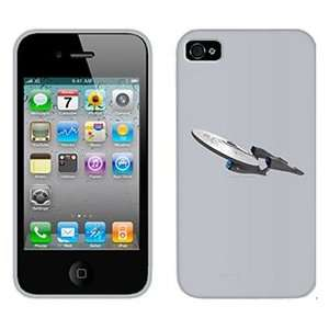 Star Trek e Movie Enterprise on AT&T iPhone 4 Case by