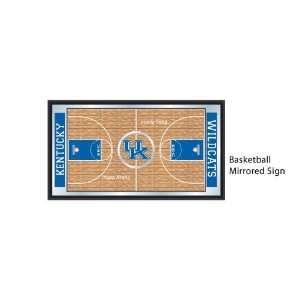 Kentucky Wildcats (University of) NCAA Basketball Mirrored