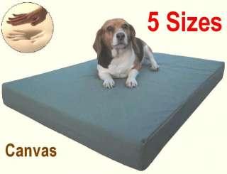 XL Jumbo Memory Foam Pet Dog Bed Pad Waterproof Canvas Cover