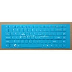 Blue keyboard cover / skin protector for Sony VAIO VPCEA VPCEG VGNNW