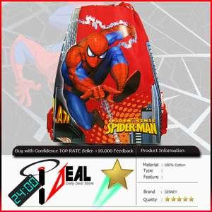 SPIDER MAN STRING BACKPACK TRAVEL DRAWSTRING BAG R