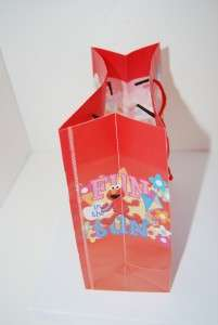 LOT 12 ELMO KIDS BIRTHDAY PARTY FAVORS CANDY GIFT BAG