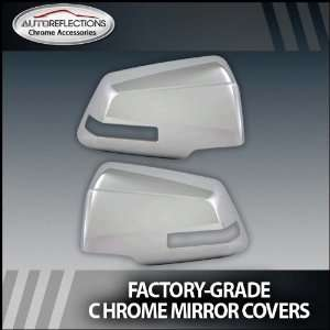 2008 2012 Chevy Traverse Chrome Mirror Covers (Full with Light Cutout