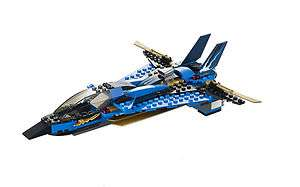 NINJAGO   JAYS STORM FIGHTER   FIGHTER ONLY   NO MINI FIGS