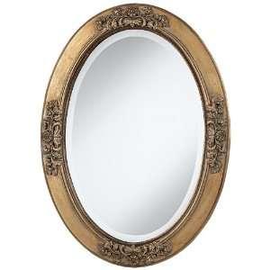 Uttermost Boltana 34 High Antique Gold Wall Mirror